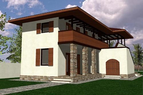 Lucrari, proiecte Casa de vacanta P+1, Contesti  - Poza 1