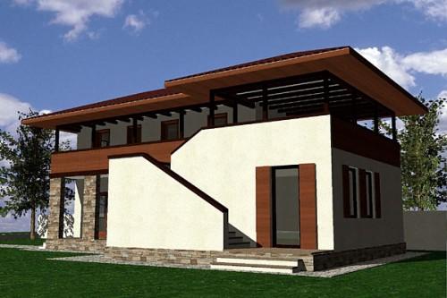 Lucrari, proiecte Casa de vacanta P+1, Contesti  - Poza 2