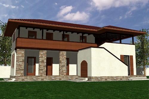 Lucrari, proiecte Casa de vacanta P+1, Contesti  - Poza 4