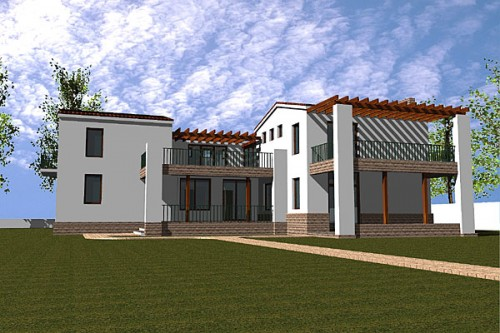 Lucrari, proiecte Casa de vacanta P+1, Eforie  - Poza 2