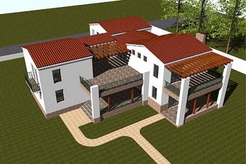 Lucrari, proiecte Casa de vacanta P+1, Eforie  - Poza 3