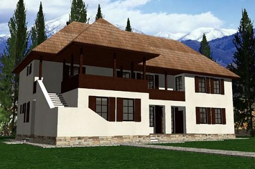 Lucrari, proiecte Casa de vacanta P+1, Sighisoara  - Poza 1