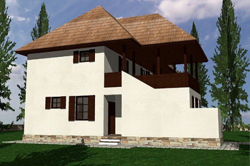 Lucrari, proiecte Casa de vacanta P+1, Sighisoara  - Poza 2