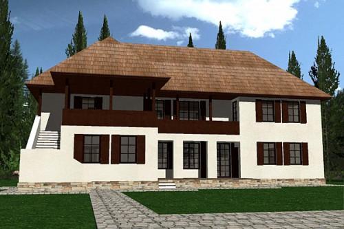 Lucrari, proiecte Casa de vacanta P+1, Sighisoara  - Poza 3