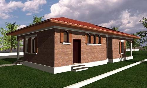 Lucrari, proiecte Casa de vacanta parter, Branesti  - Poza 3