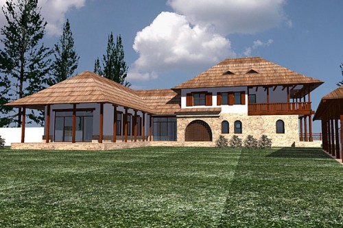 Lucrari, proiecte Casa de vacanta, Busteni  - Poza 2