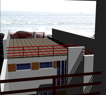 Lucrari, proiecte Casa de vacanta, Vama Veche (studiu)  - Poza 2