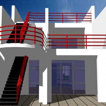 Lucrari, proiecte Casa de vacanta, Vama Veche (studiu)  - Poza 3