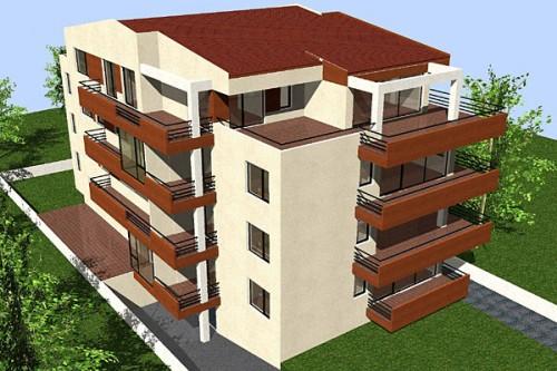 Lucrari, proiecte Cladire de apartamente S+P+2+M, Chiajna  - Poza 1