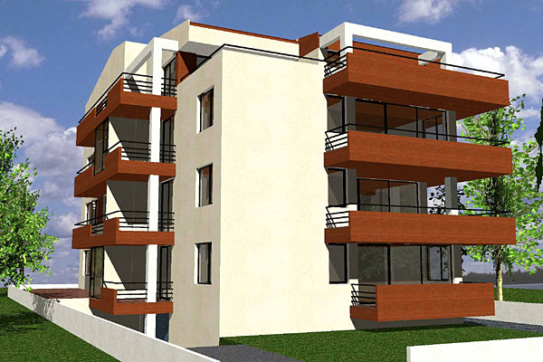 Cladire de apartamente S+P+2+M, Chiajna  - Poza 2