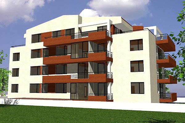 Cladire de apartamente S+P+2+M, Chiajna  - Poza 3