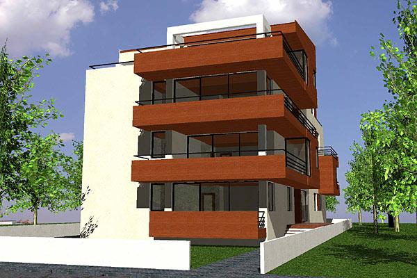 Cladire de apartamente S+P+2+M, Chiajna  - Poza 4