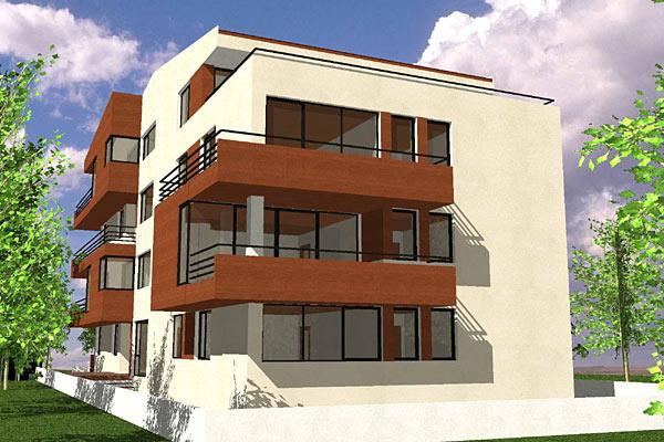 Cladire de apartamente S+P+2+M, Chiajna  - Poza 5