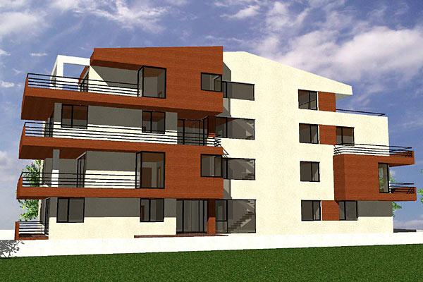 Cladire de apartamente S+P+2+M, Chiajna  - Poza 6
