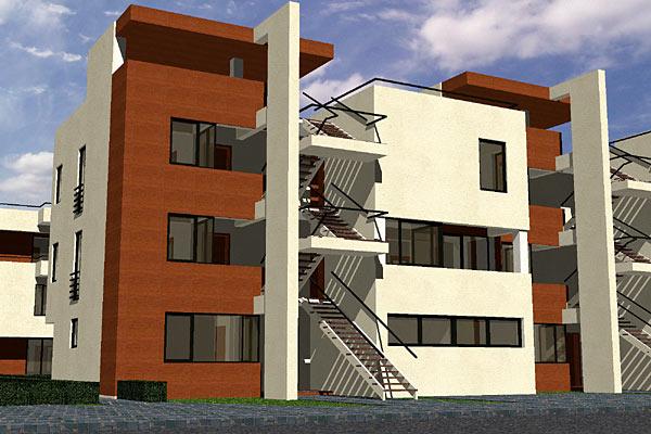 Complex de apartamente S+P+2, Bucuresti  - Poza 2