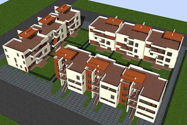 Complex de apartamente S+P+2, Bucuresti  - Poza 5