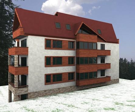 Lucrari, proiecte Hotel Busteni (studiu)  - Poza 2