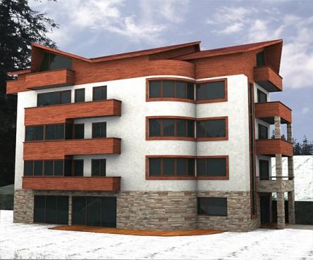 Lucrari, proiecte Hotel Busteni (studiu)  - Poza 3