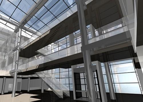 Lucrari, proiecte Mediateca, Bucuresti (studiu)  - Poza 2