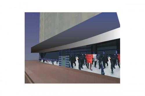 Lucrari, proiecte Amenajare interioara, Eurom Bank  - Poza 3
