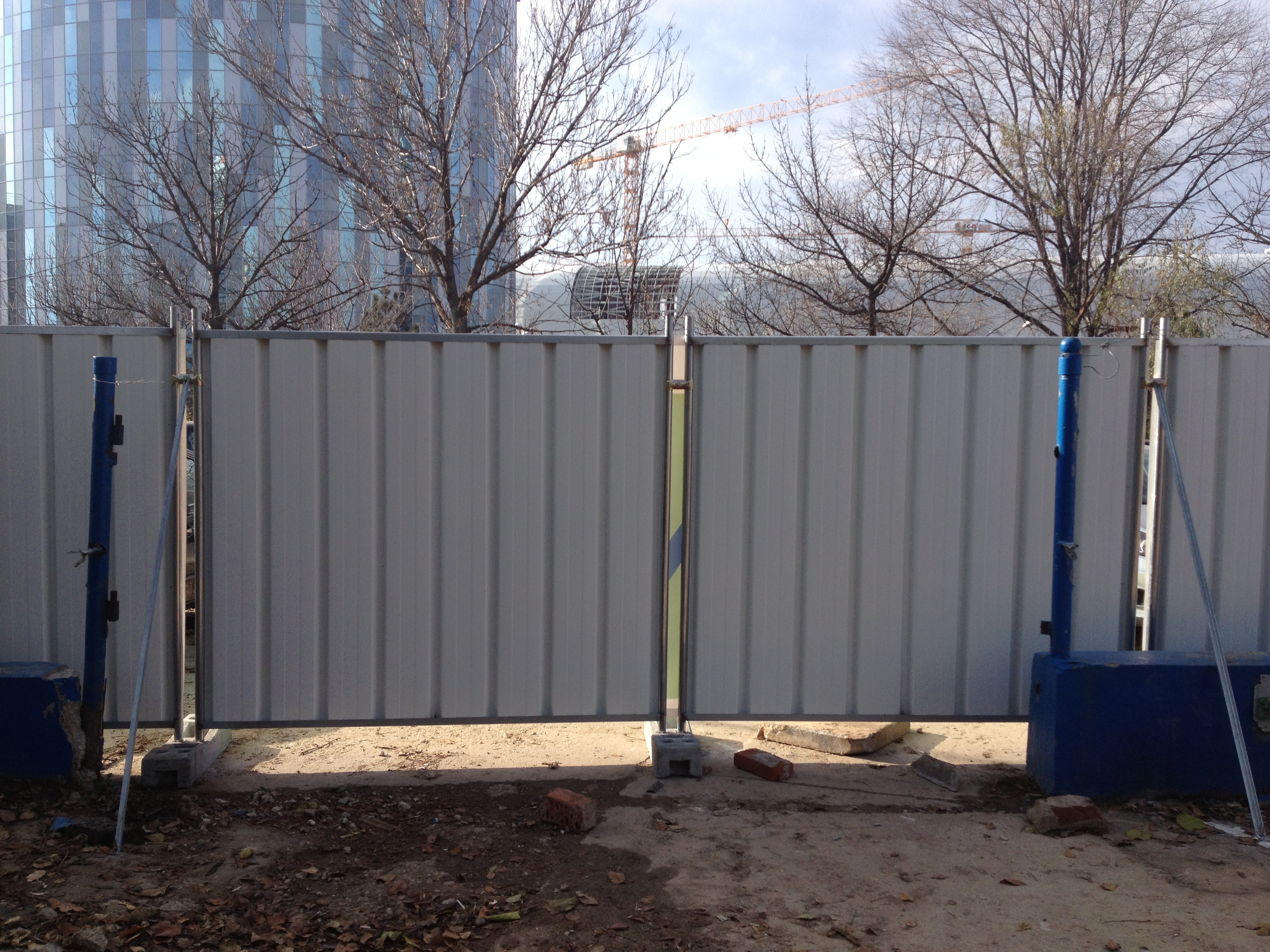 Garduri mobile pentru imprejmuiri temporare BULLONI - Poza 7