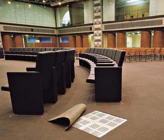 Pardoseli suprainaltate pentru interior cu sistem de incalzire NESITE - Poza 11