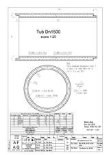 Tub DN1500mm L3m SW UMWELTTECHNIK