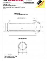 Tub TCB DN600 L2,3m