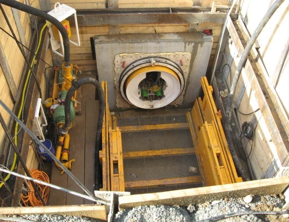 Tuburi pentru subtraversari din beton armat - Proiect subtraversare Baneasa SW UMWELTTECHNIK - Poza 4