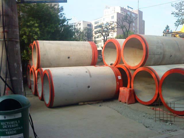 Tuburi pentru subtraversari din beton armat - Proiect subtraversare Baneasa SW UMWELTTECHNIK - Poza 5