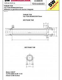 Tub TCB DN300 L2,3m