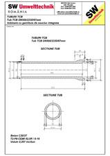 Tub TCB DN500 L2,3m SW UMWELTTECHNIK