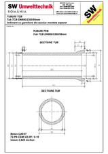 Tub TCB DN800 L2,3m SW UMWELTTECHNIK