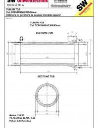Tub TCB DN800 L2,3m