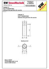 Tub din beton armat cu talpa DN300.100.4 SW UMWELTTECHNIK
