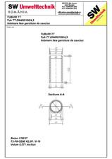 Tub din beton armat cu talpa DN400.100.4,5 SW UMWELTTECHNIK
