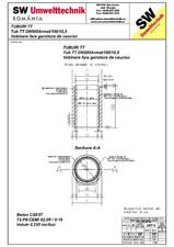Tub din beton armat cu talpa DN500.100.10,5 SW UMWELTTECHNIK