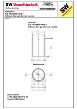 Tub din beton armat cu talpa DN600.100.5,5 SW UMWELTTECHNIK