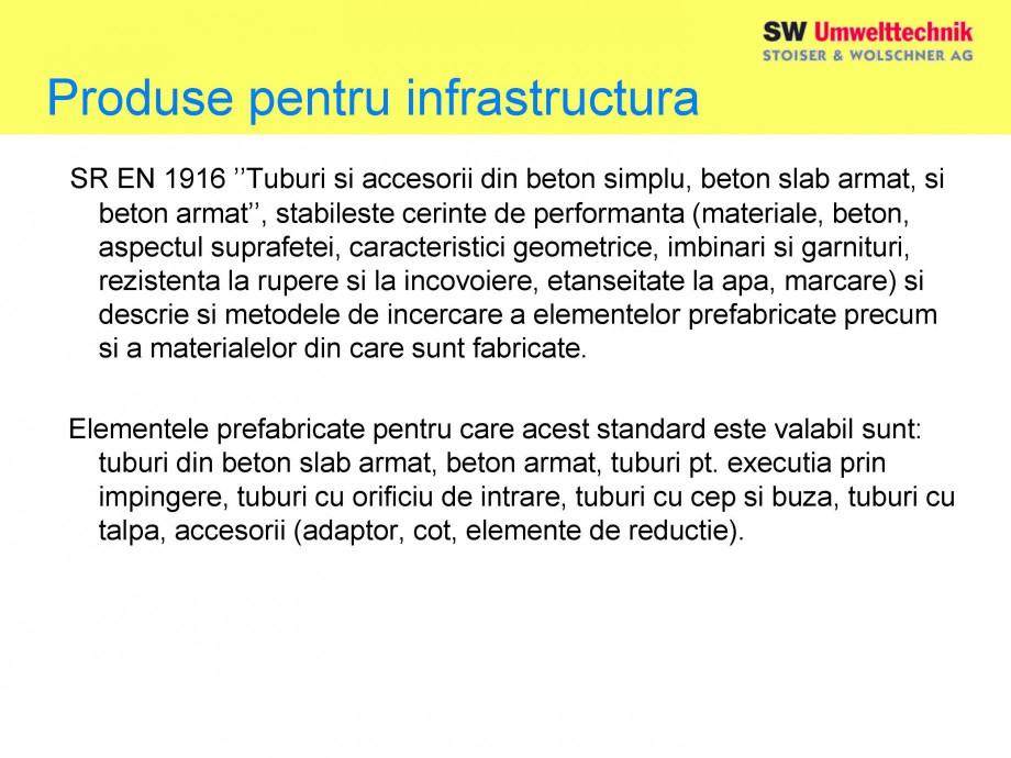 Pagina 6 - Elemente pentru sisteme de canalizare SW UMWELTTECHNIK Catalog, brosura Romana