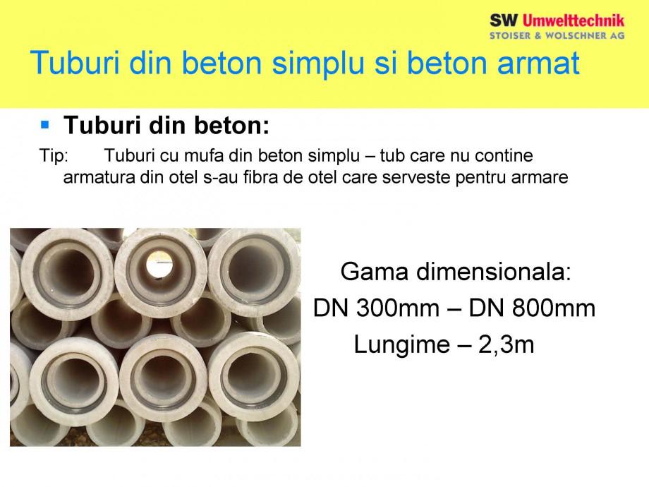 Pagina 8 - Elemente pentru sisteme de canalizare SW UMWELTTECHNIK Catalog, brosura Romana