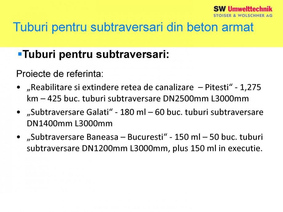 Pagina 25 - Elemente pentru sisteme de canalizare SW UMWELTTECHNIK Catalog, brosura Romana