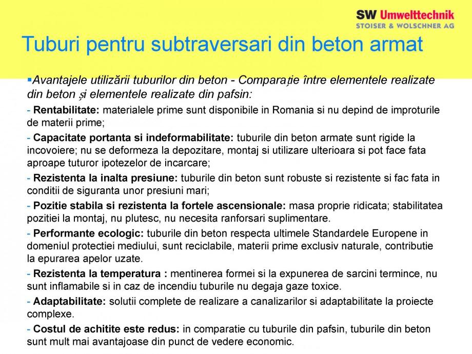 Pagina 37 - Elemente pentru sisteme de canalizare SW UMWELTTECHNIK Catalog, brosura Romana