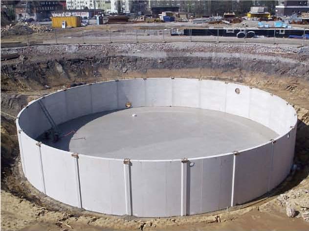 Bazine din beton armat SW UMWELTTECHNIK - Poza 13