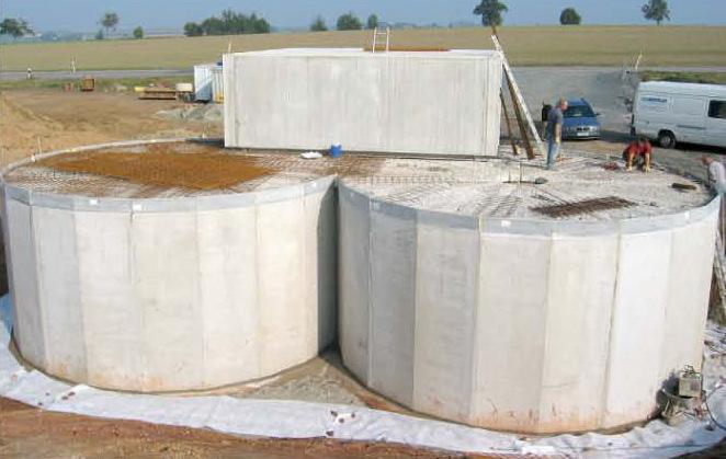 Bazine din beton armat SW UMWELTTECHNIK - Poza 14