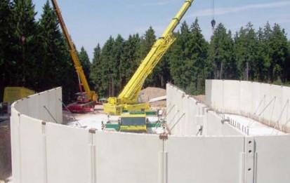 Bazine din beton armat / Bazin din beton spanbeton