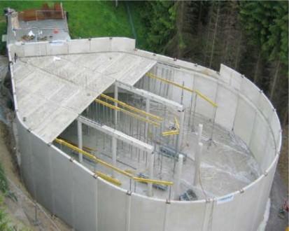 Bazine din beton armat / Bazine tip Droessler