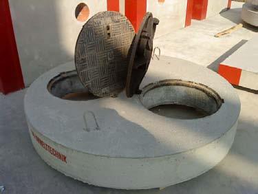 Bazine din beton armat / Placi de acoperire bazine