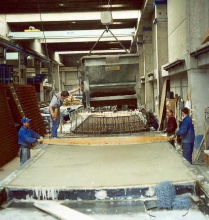 Bazine din beton armat / Productia bazinelor din beton