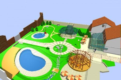 Lucrari, proiecte Amenajari de peisagistica  - Poza 1
