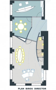 Lucrari de referinta Design interior de birouri  - Poza 1